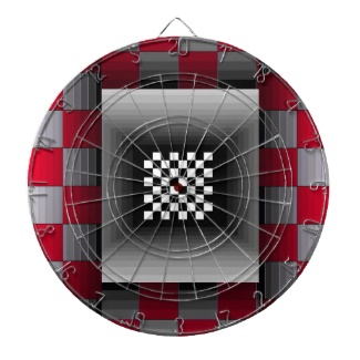 Illusion Dartboard Science Geek Toys 3 by CricketDiane 2013