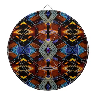 Illusion Dartboard Science Geek Toys 9 by CricketDiane Art and Design 2013