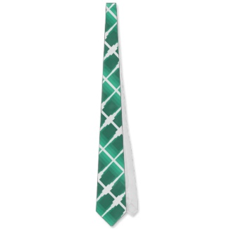 Mint Green Optical Illusion Electronics Mens' Tie by CricketDiane 2013