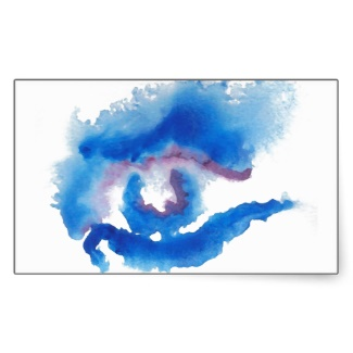 watercolor_blue_eye_cricketdiane_art_sticker