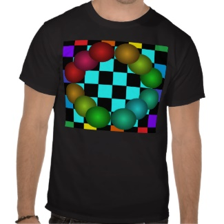 Color Spectrum Rainbow Tshirt 23 by CricketDiane 2013