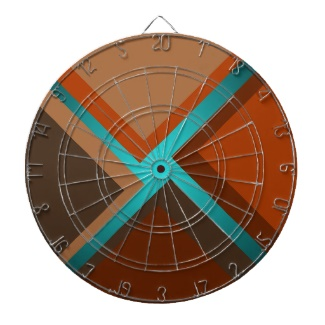 Minimalist Art DartBoard Autumn Colors by CricketDiane 2013