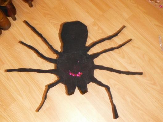 Dianes Halloween Spider CricketDiane 2013