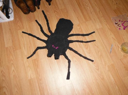 DSCF1230 - Dianes Halloween Spider 2013 CricketDiane.jpg