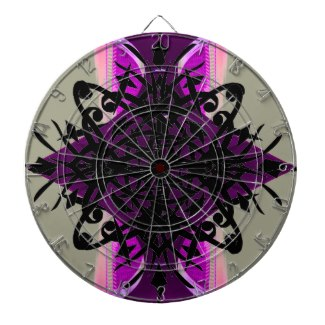 Unusual Futuristic Dart Board 2013 - 2 by CricketDiane
