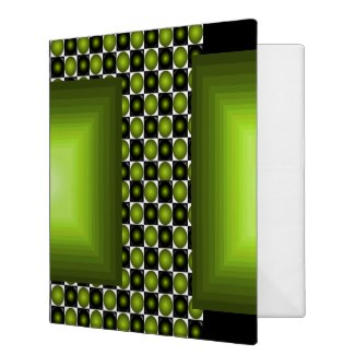 Green and Green Binder 2 by CricketDiane