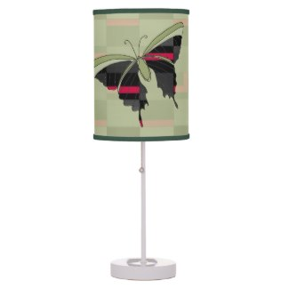 Olive Green Butterfly Design Experiment by CricketDiane 2014