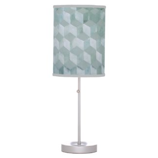 Optical Boxes Silver Grey Lamp Decor by CricketDiane 2014