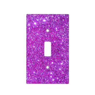 Pink Glitter Sparkle Girly Lightswitch Cover 2 Light Switch Cover by CricketDiane