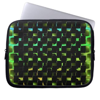 Mod Spectrum 6 Laptop Case Laptop Sleeves by CricketDiane