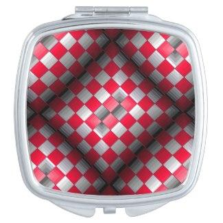 Cosmetic Mirror Modern Optical Geometric Design 10 by CricketDiane