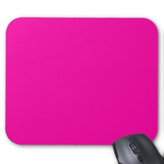 All Hot Pink Nothing But Color Pink Mousepad by CricketDiane