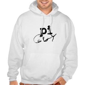pi guy sweatshirt hoodie nerd gifts by CricketDiane