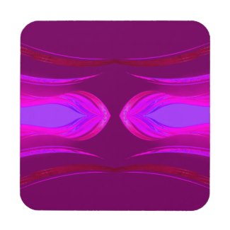 Pink Hot Pink Purple Dreams CricketDiane Beverage Coaster by CricketDiane