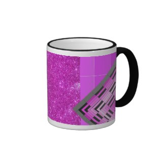 Pink Purple Glitter and Design Party Mug 1 by CricketDiane