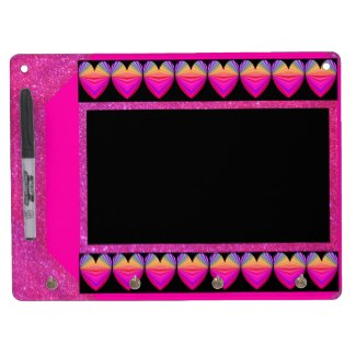 Pink Purple Sparkly Dry Erase Board Girly Fun 8 by CricketDiane