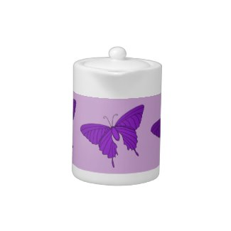 Purple and Lilac Butterfly Lavender Violet by CricketDiane