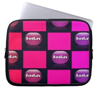 Spectrum Colorful 15 Zipper Soft Laptop iPad Case Laptop Sleeve by CricketDiane