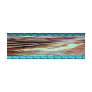 Serenity Ocean Art Spirit of Light Canvas Painting by CricketDiane