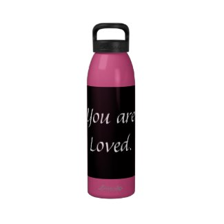 Inspiration Encouragement Dorm Girl College School Drinking Bottle by CricketDiane