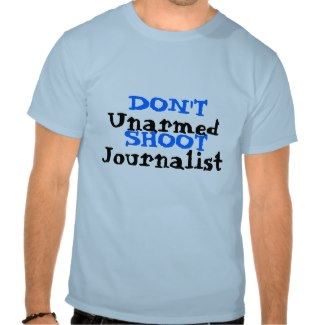 Protest Activist Political Don't Shoot Journalist by CricketDiane