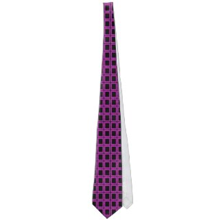 Men's Black Pink Fun Fashion Gift Necktie by CricketDiane