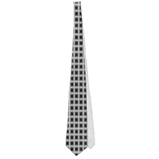 Men's Gunmetal Grey Patterned Fun Office Gift Neck Wear by CricketDiane