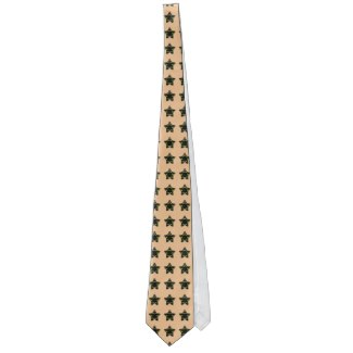 Men's Strange Stars Patterned Fun Office Gift Necktie by CricketDiane