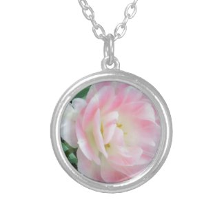 Pretty Delicate Feminine Flower White Pink Gifts Jewelry by CricketDiane