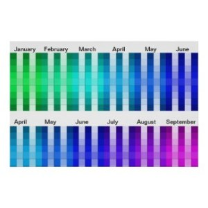 Visual Calendar Adaptive Living Tools by CricketDiane - Cricket House Studios